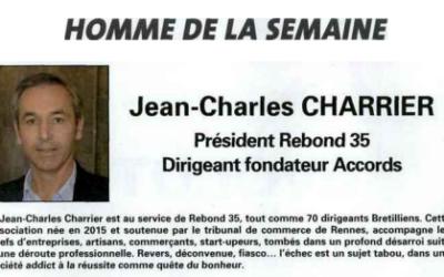 Jean-Charles Charrier, Homme de la semaine
